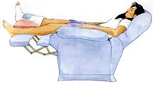 Phục hồi chức năng vận động, sau khi bị đánh gẫy xương tê liệt.